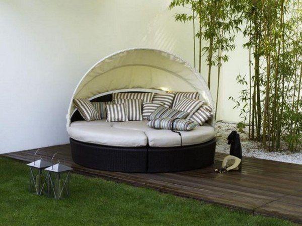 Round Seat Sunbrella Outdoor Furniture Ideas