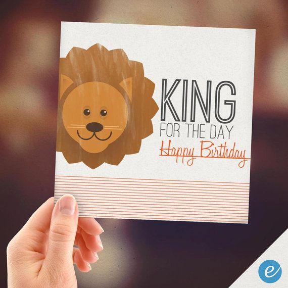 Birthday Lion King For Kids