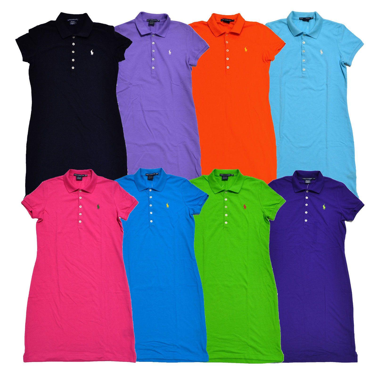 Ralph Lauren Womens Dress Tennis Mesh Classic Pony Logo New Xs S M L Xl