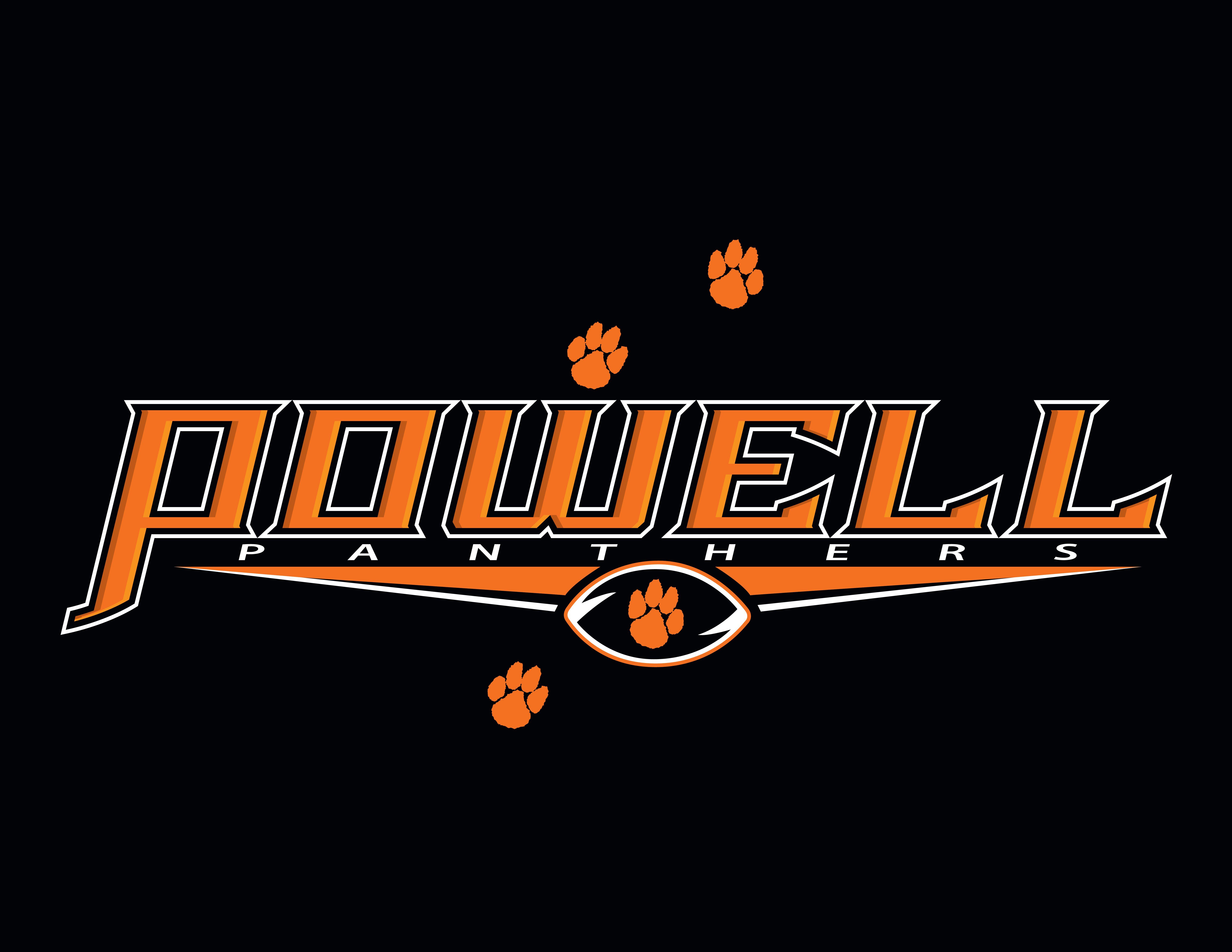 T shirt design jacksonville fl - Powell High School Football Tee Shirt Design