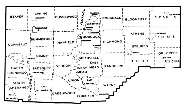 Pin By Jan Garland On Our Trees Portraits Graphics Maps Data In 2019 Crawford County Genealogy Pennsylvania