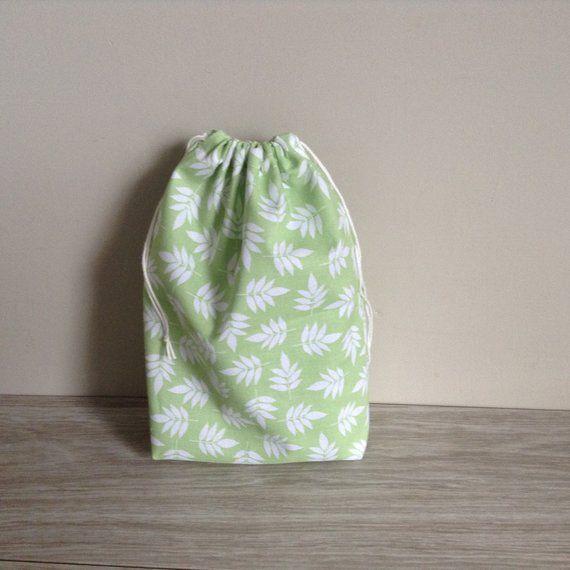 Sac pochon en coton, emballage cadeau réutilisable, objectif zéro déchet