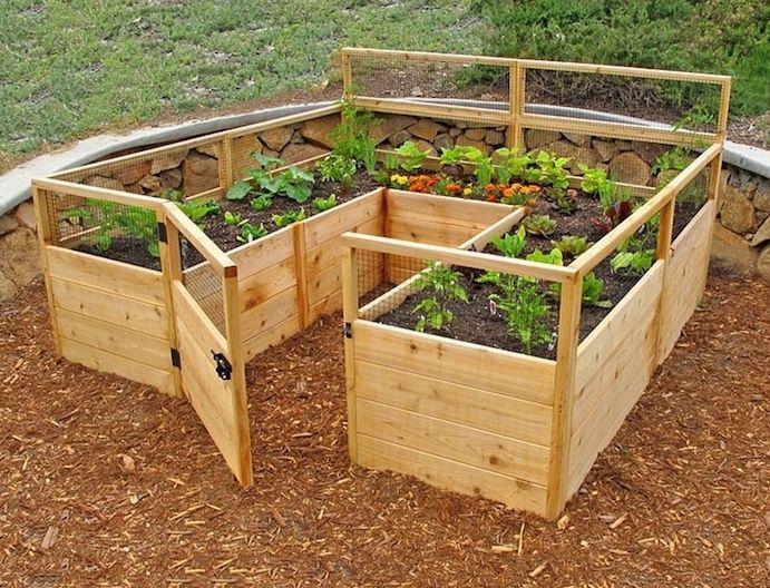 1001 Idees Jardin Pinterest Garden Beds Raised Garden