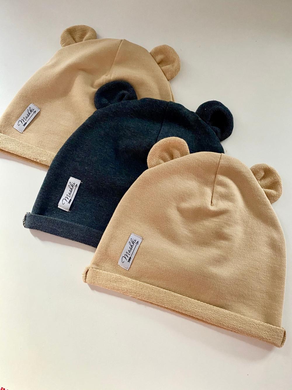 Czapka Z Uszami Ocieplona Z Bawelnianej Dresowki Rozne Kolory Mashki Winter Hats Beanie Fashion