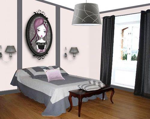 Décoration d\'une chambre d\'adolescente - Floriane Lemarié ...