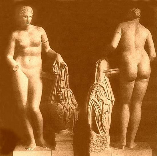 Not Nude ancient greek females tempting