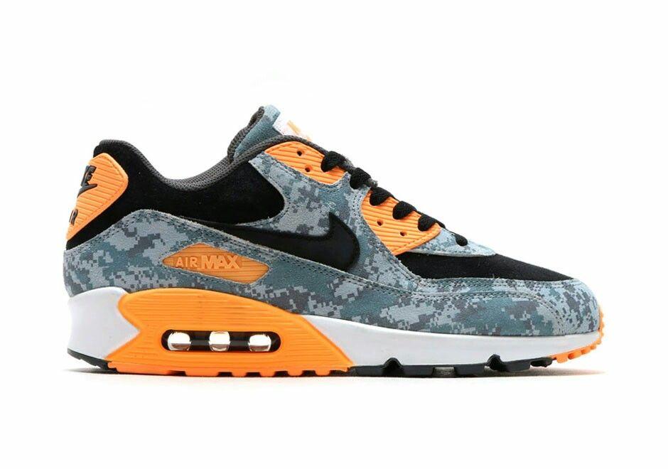"""Nike Air Max 90 """"Digi-Camo"""" Peach (2016-Atmos)"""