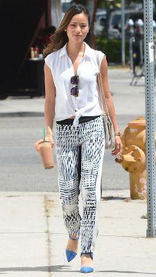 Never Be Afraid I Celebrity Inspiration + Fashion: Jamie Chung's Street Style