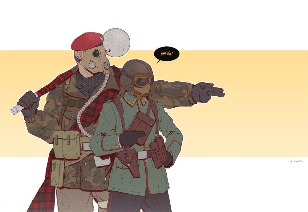 Jäger and Sledge by amazing @cpt_sunstark on Twitter   R6