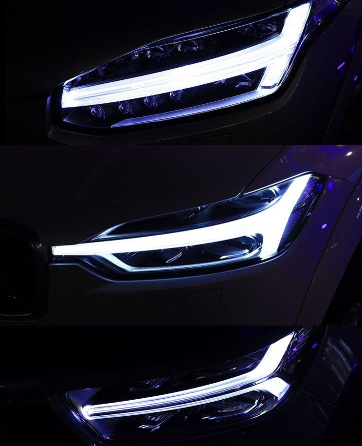 Thor S Hammer Led Lights On 2019 Volvo Xc90 Xc60 And Xc40 Luxury