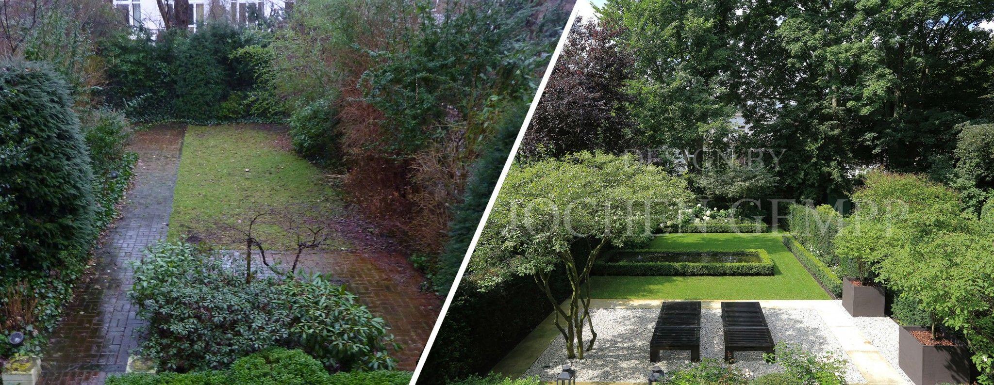 gartenplanung & gartengestaltung: vorher / nachher effekt, Gartenarbeit ideen