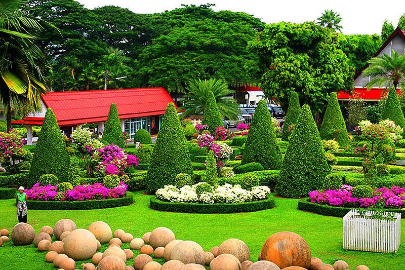 nong nooch tropical garden pattaya thailand gardens on attractive tropical landscaping ideas id=64637