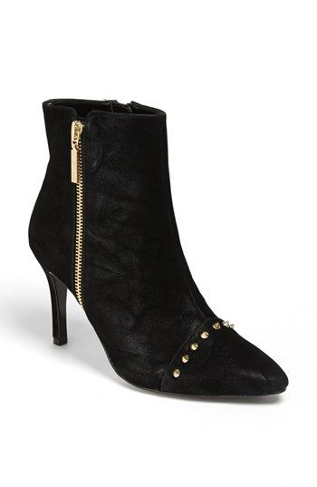 Nina 'Gabele' Studded Pointy Toe Bootie available at #