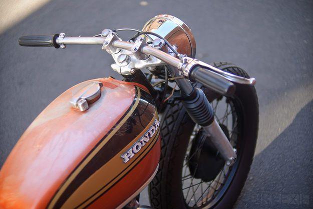 HardSun Motorcycles: HONDA CB 450 CAFE RACER