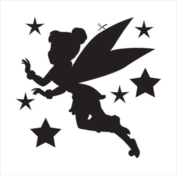 Tinkerbell Template Printable   Templates & Silhouettes   Pinterest ...