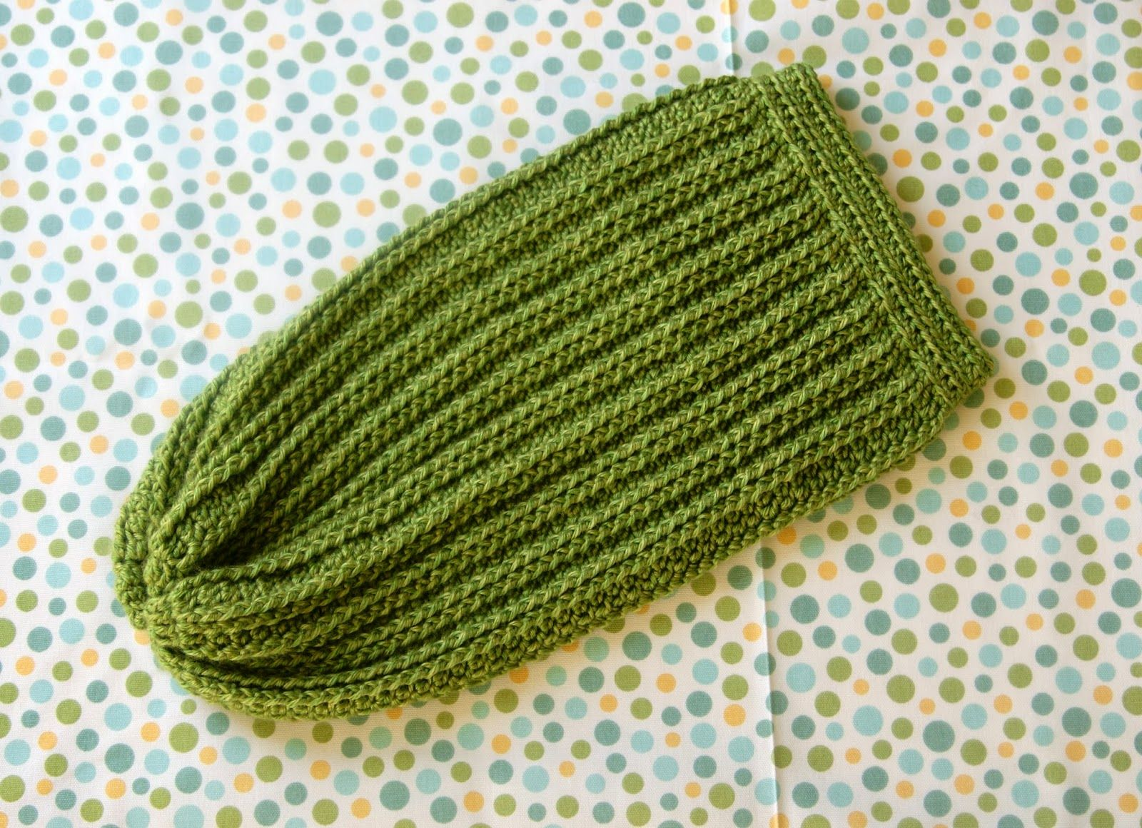 Crochet Baby Cocoon with Cables @ Alice and the Mock Turtle ...