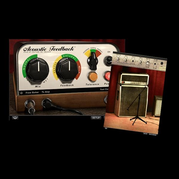 Softube Guitar Amp Acoustic Feedback Plugin Acoustic Guitar Amp Music Gear