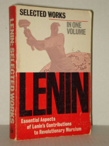 Selected Works by V. I. Lenin in 1 vol Essential Aspects of Lenin's Contribution
