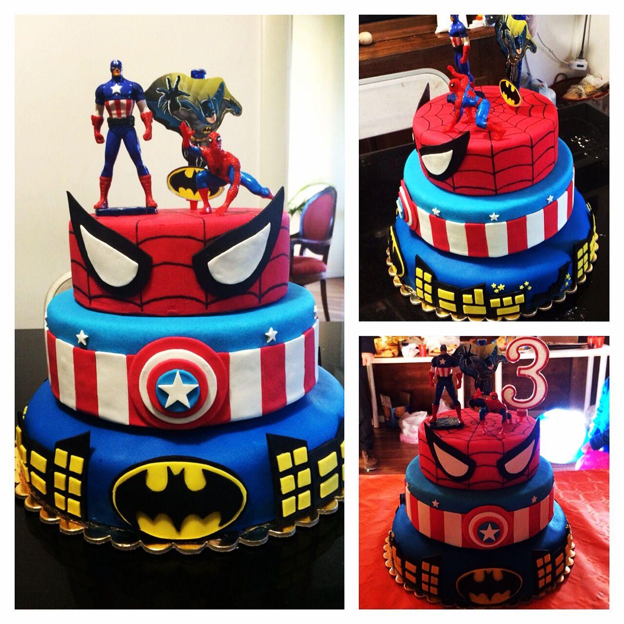 Torte spiderman hulk