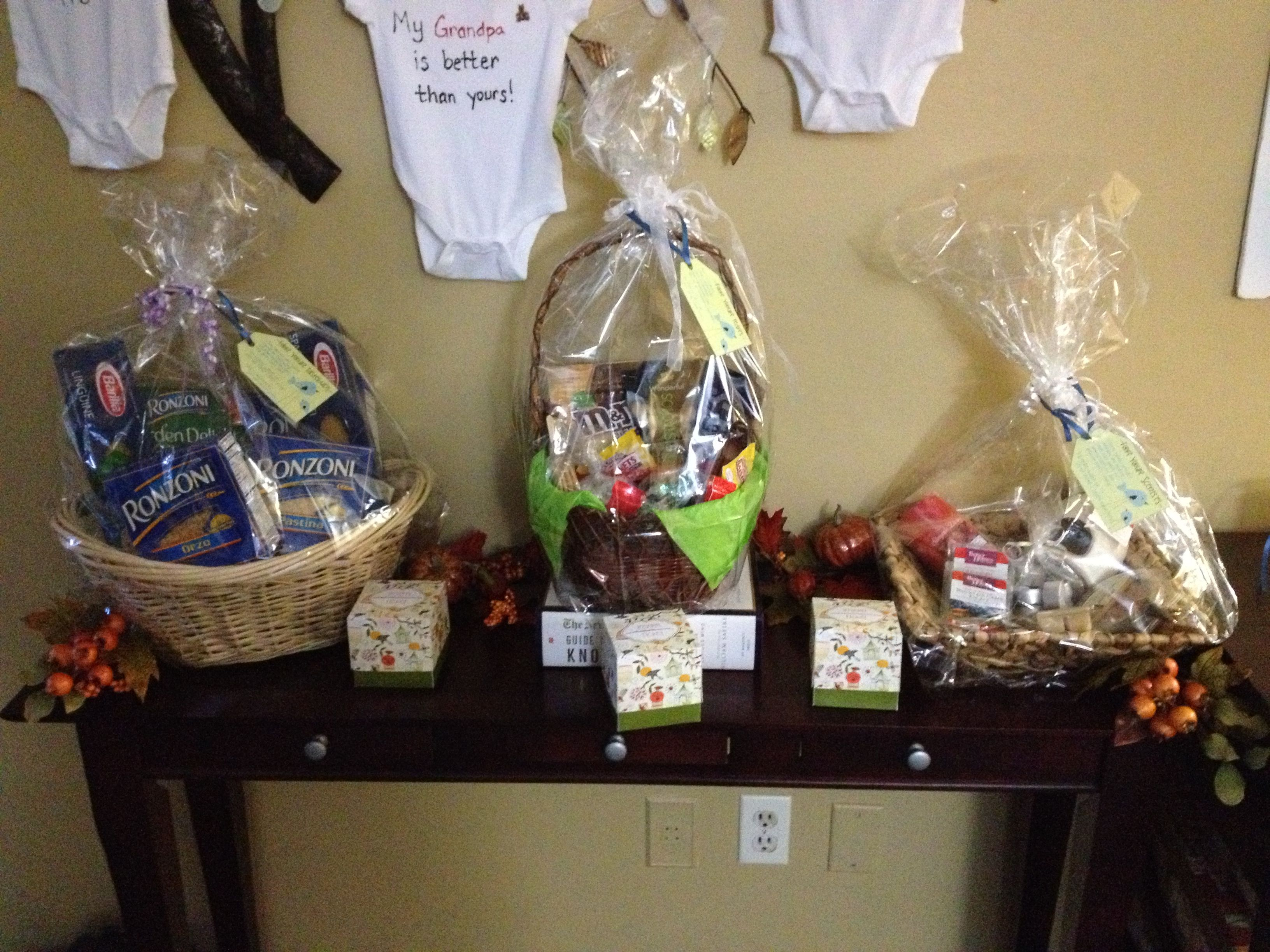 diaper raffle gift baskets baby shower diapers shower ideas football