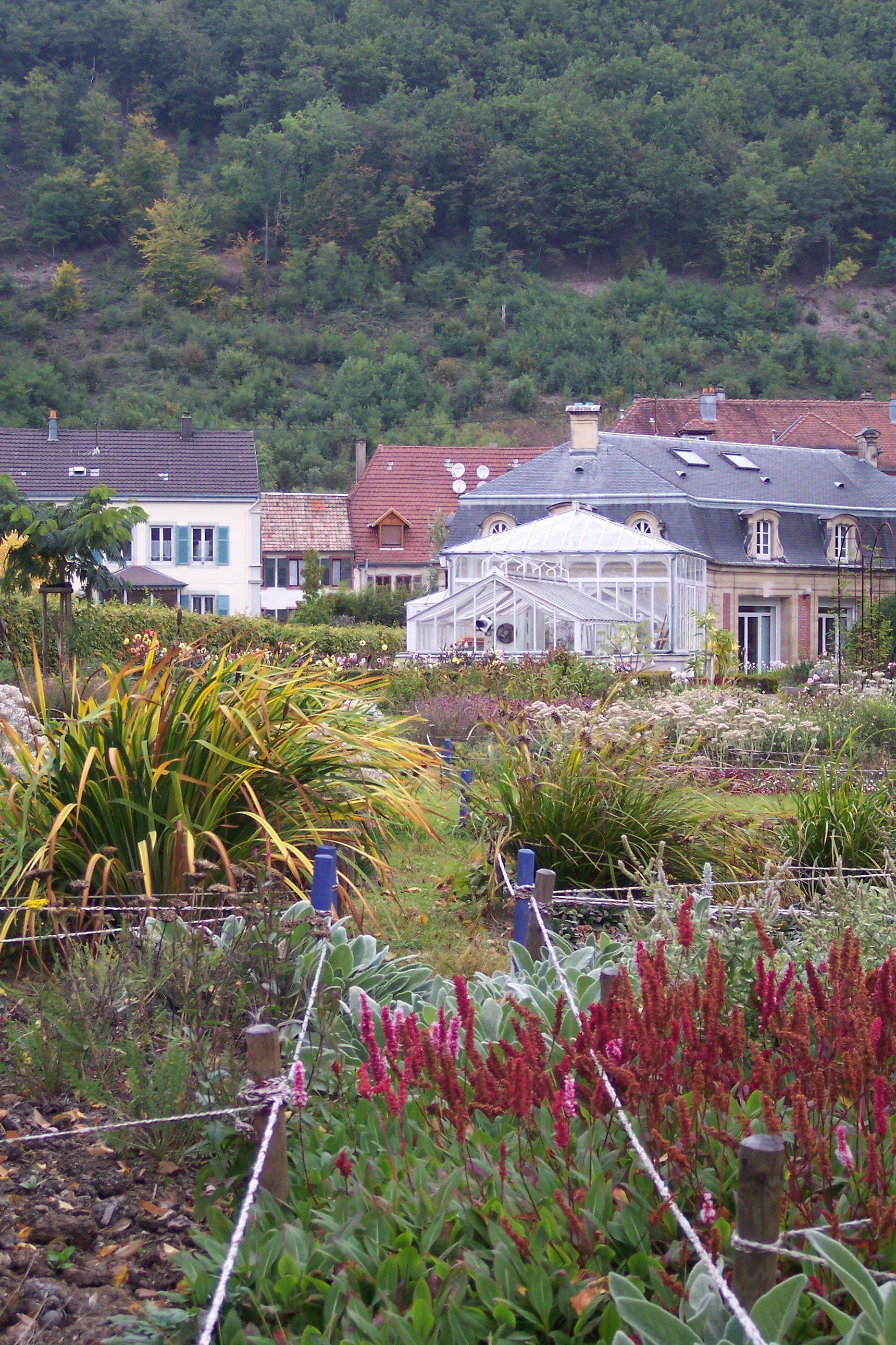 Parc de la Villa BURRUS - Les jardins - Jardin Patchwork - www.jardins-burrus.fr