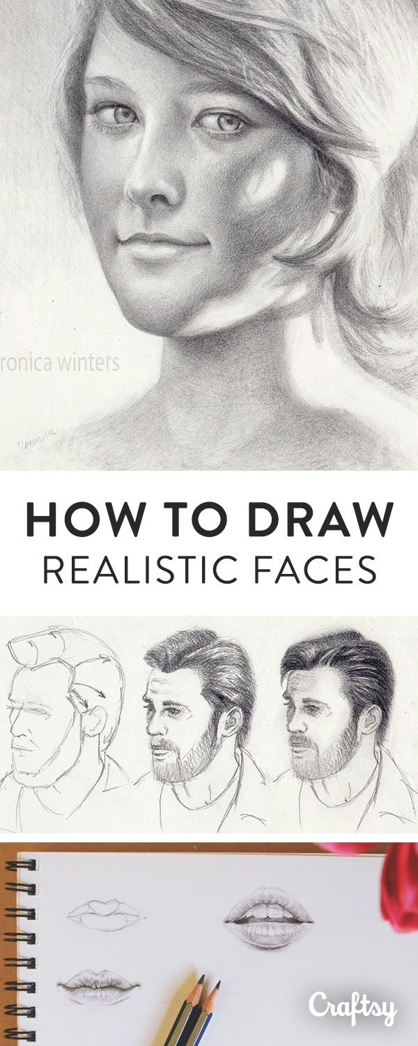 Drawing the Human Face: A Primer | Water color pencil