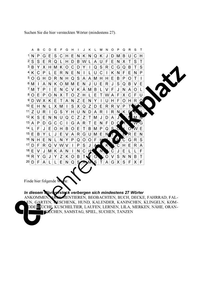 30 Konzentrationsübungen Kind Arbeitsblätter | Coloring Pages ...