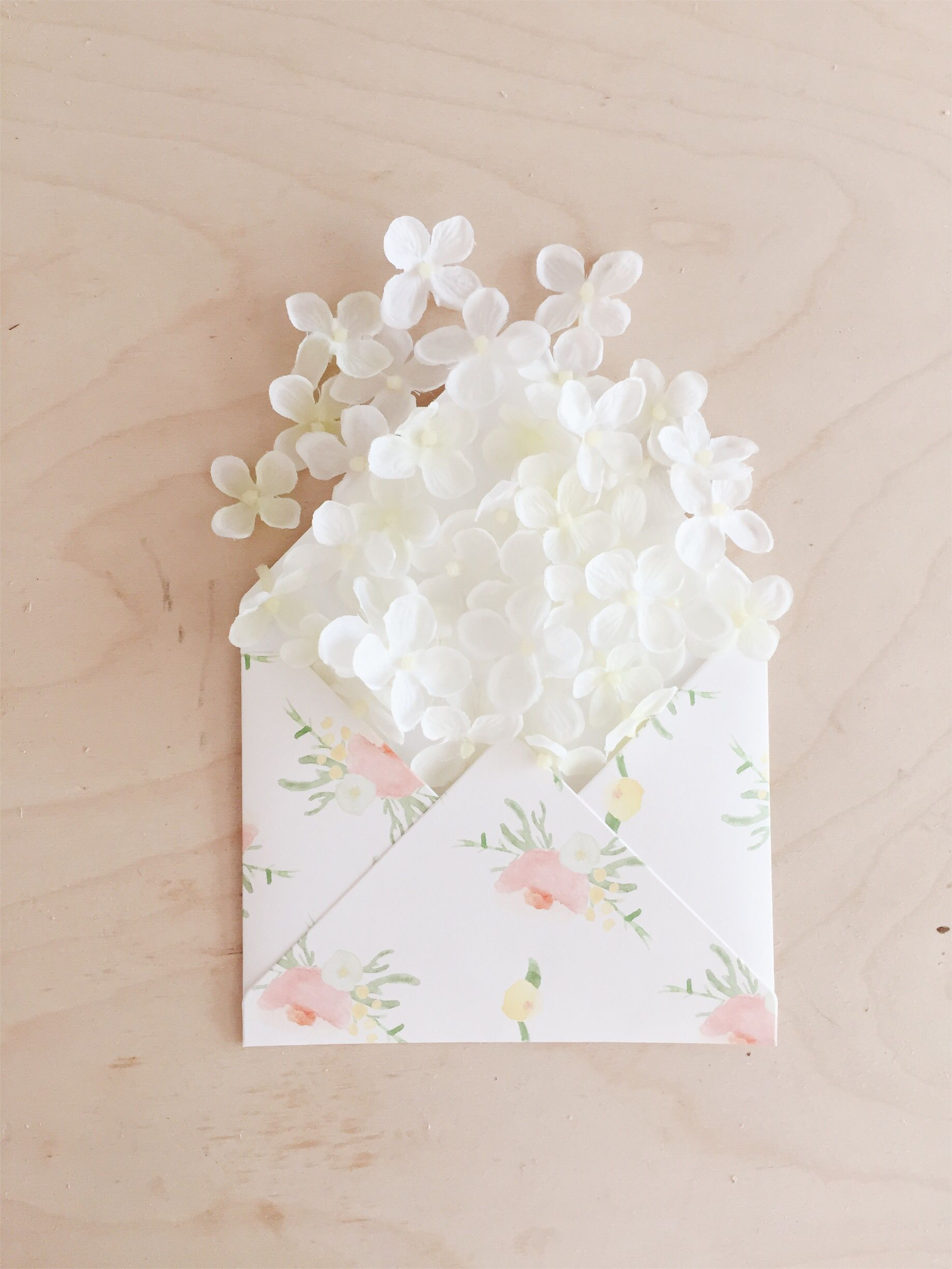 If You Re Going For A Soft Feminine Look These Floral Envelopes