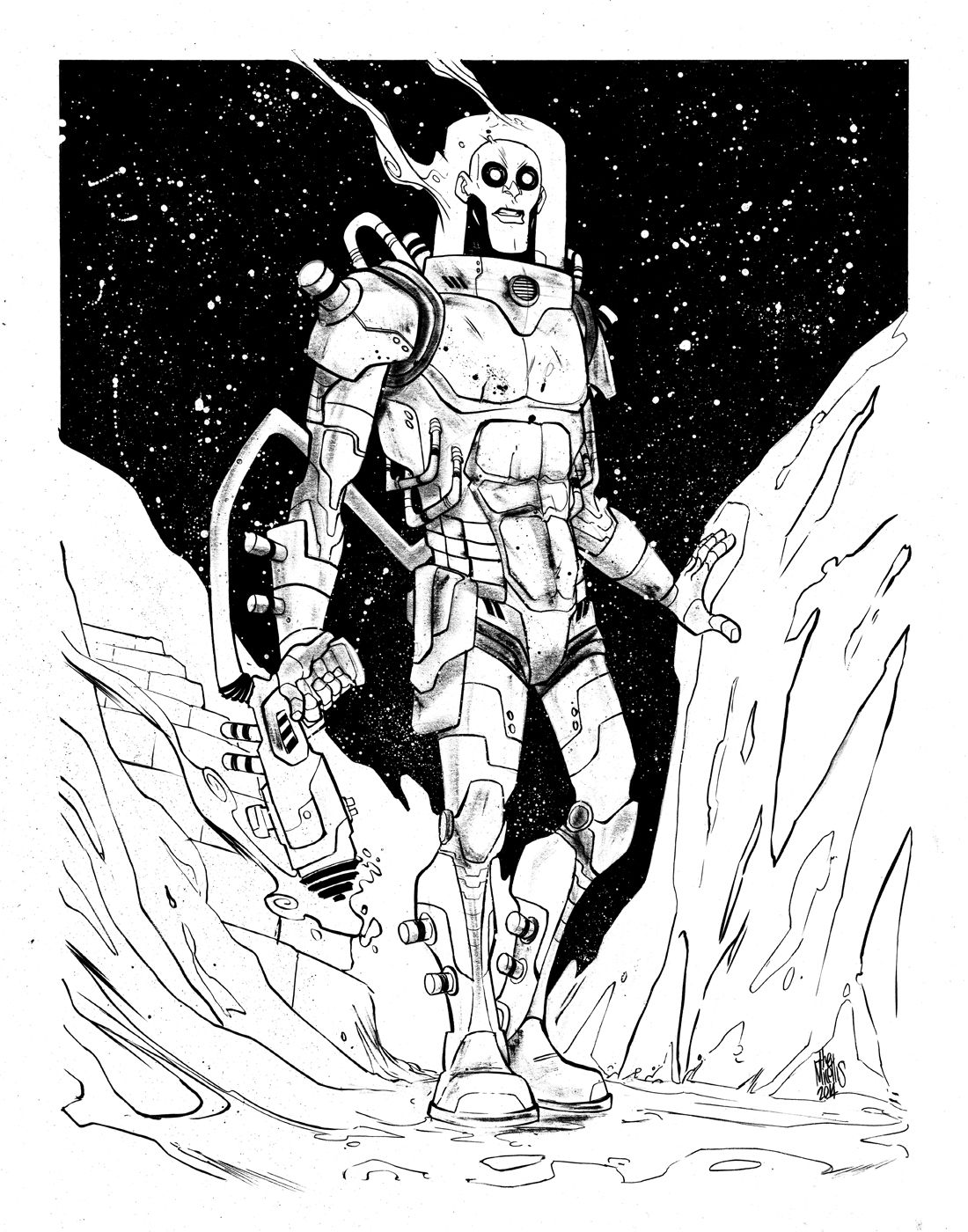 Mr Freeze by alessandromicelli on deviantART (With images