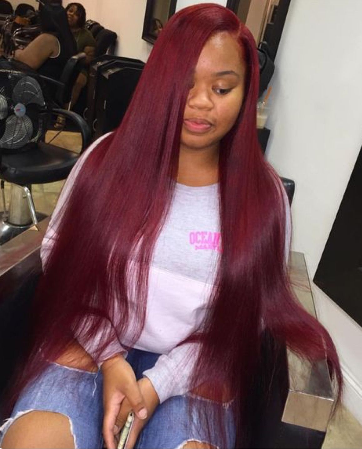 Red Sew In Weave : weave, Don't, Styles,, Hairstyles