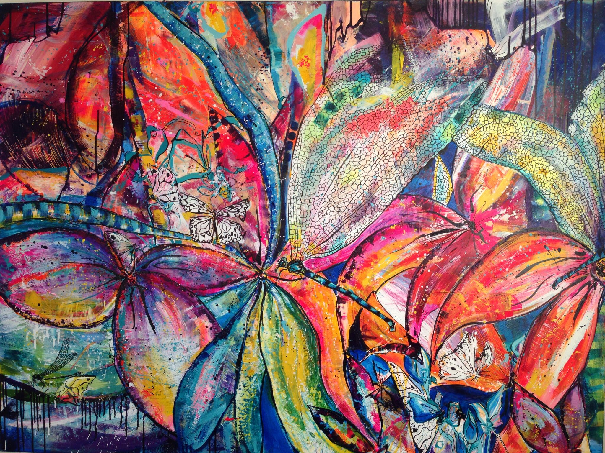 Acrylic on Canvas - 120 x 160 cm - PulkkinenArt.
