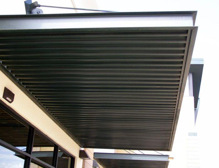 Steel Window Awning Panels Office Exterior Pinterest