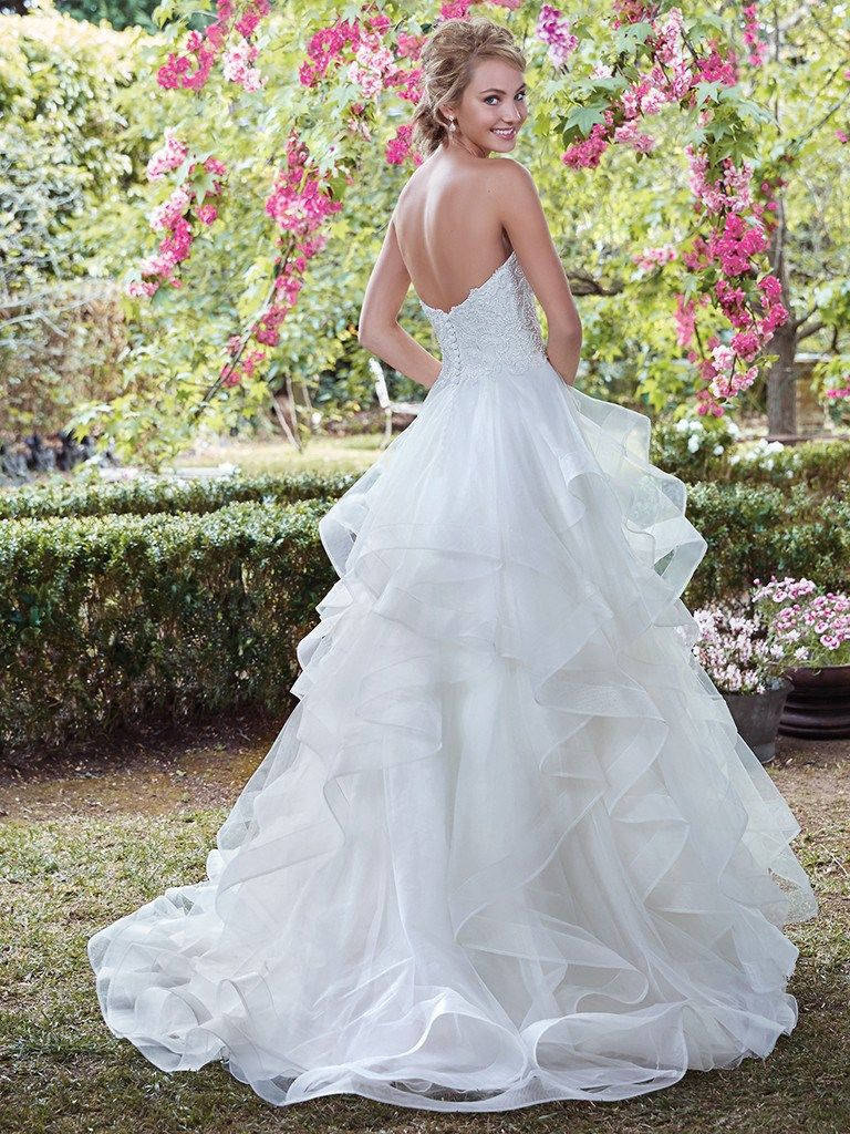 The Top 10 Wedding Dress Styles from top designers | Maggie sottero ...