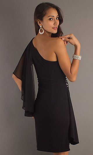 nice one shoulder, i have something like this in blue