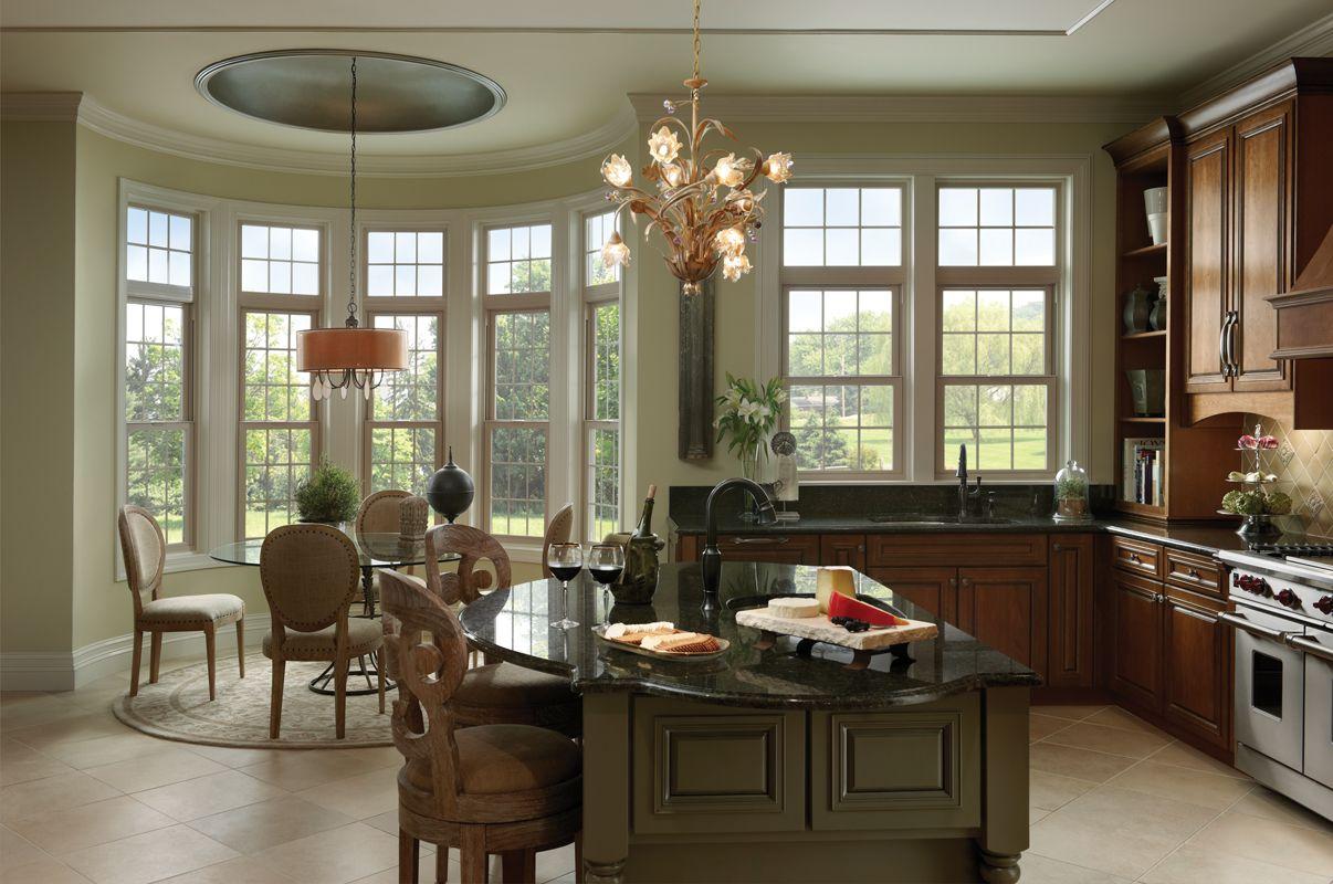 Vinyl Windows Tuscany Style Zoom In Interior Design Kitchen Elegant Kitchens Home