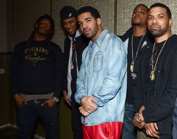 Drake Attends Trey Songz Pre Grammy Party At Soho House Photos Grammy Party