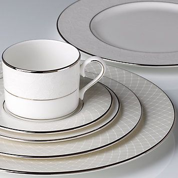 Venetian Lace 5-piece Dinnerware Place Setting w/ FREE Soup Bowl by Lenox