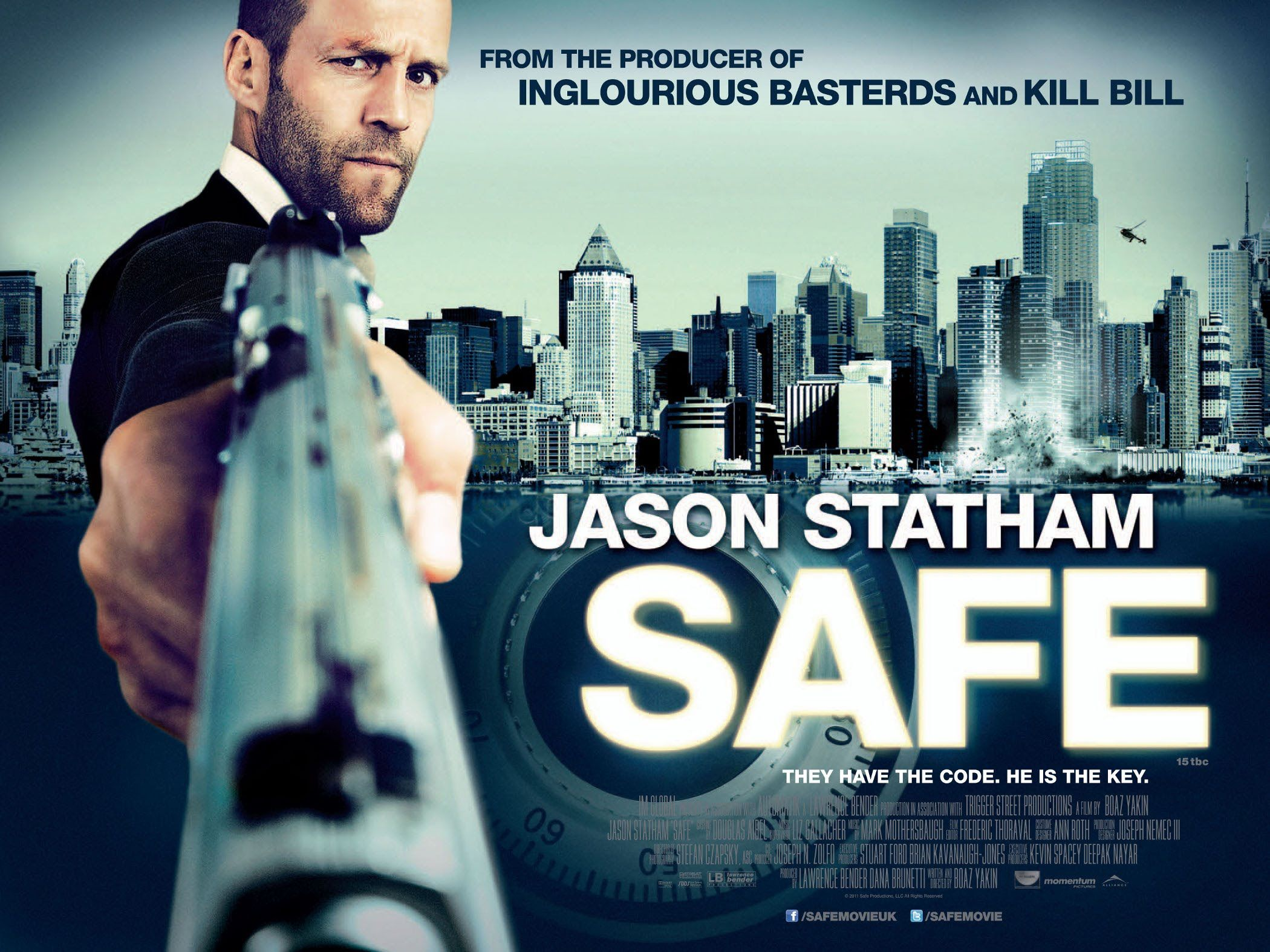 SAFE (815 AM) Jason statham, Statham, New poster