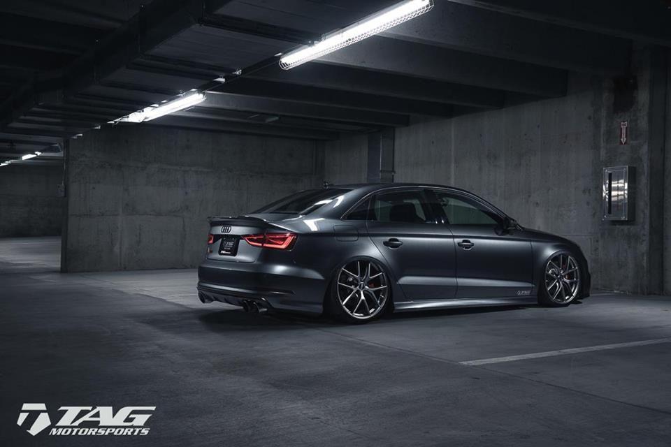Bagged Audi S3 By Tag Motorsports Audi Rs3 Sedan Audi S5