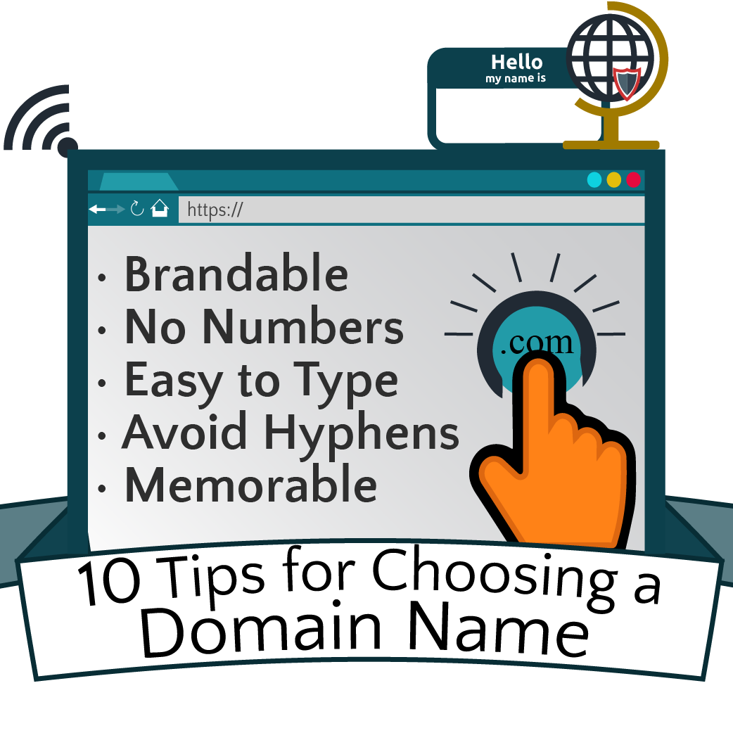 Don't know which domain name to choose? Coming up with a