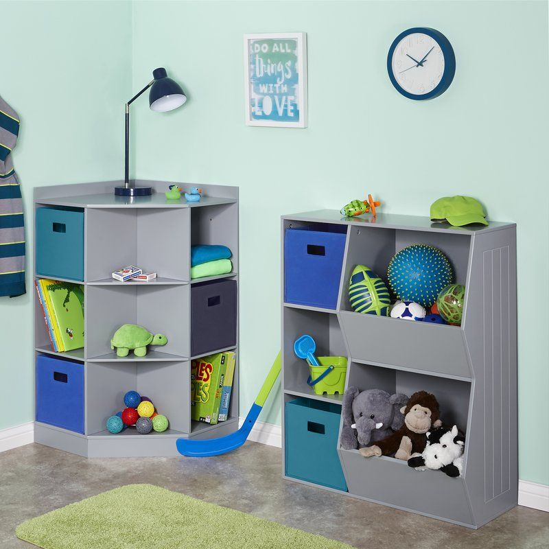 6 Cubby 3 Shelf Toy Organizer Kids Bedroom Organization Girls Bedroom Furniture Toy Rooms