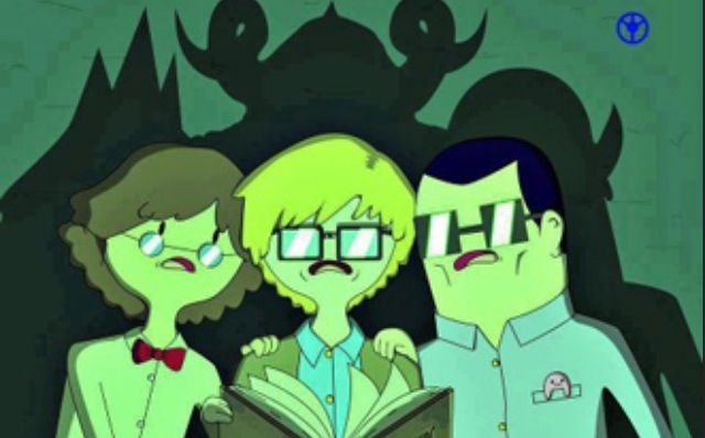 (Left to Right): Simon Petrikof/The Ice King, Finn's Dad/The Lich King, Hunson Abadeer