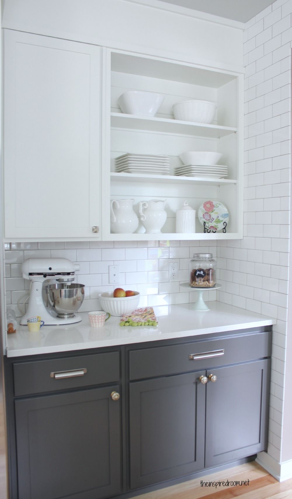 Best Kitchen Cabinet Colors Before After Dove White 400 x 300