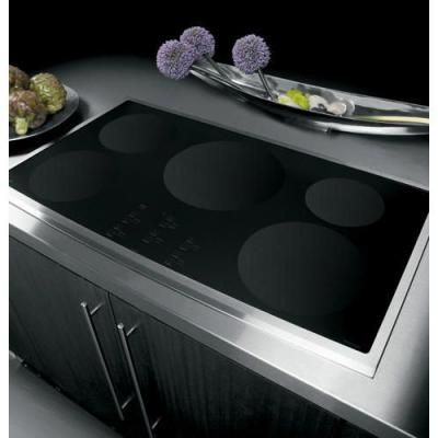 Ge Profile 36 In Smooth Top Electric Induction Cooktop In