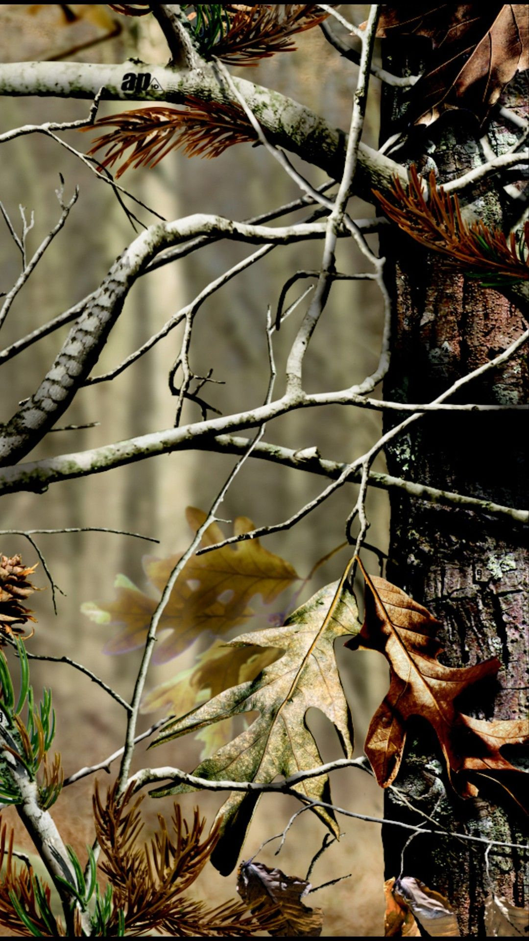 Pin By Kimberly Haller On Phone Background Camo Wallpaper Nature Wallpaper Tree Branch Decal