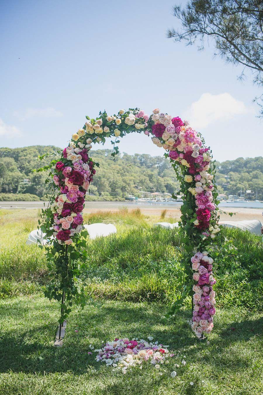 Flower Arch Wild Lotus Florist Palm Beach Lucinda Park Www