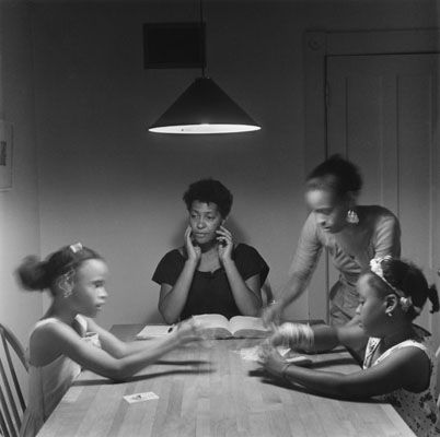 Carrie Mae Weems Image From The Kitchen Table Series