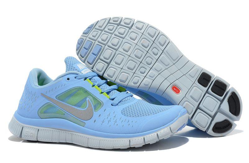 timeless design 4bb8d a3799 Nike Free Run 3 Womens Prism Blue WANT
