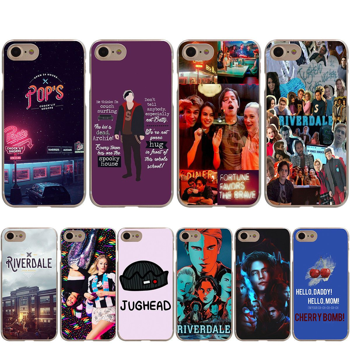 new product d84d8 85553 $1.99 - Riverdale Jughead Jones Cover Case For Iphone X 8 7 6 6S ...