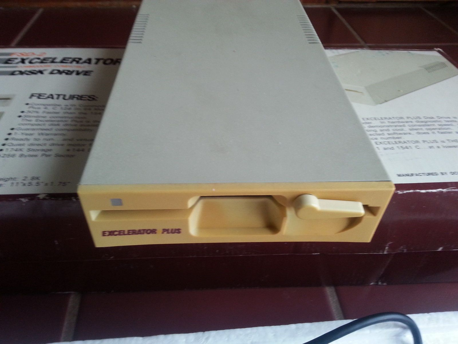 Oceanic Electronics Corp Model Fsd 2 Excelerator Plus Disk